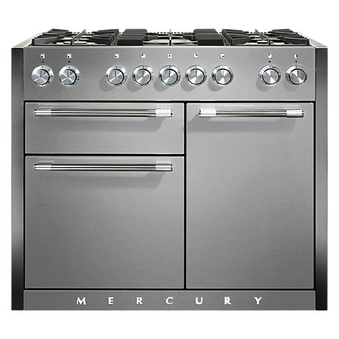 Buy Mercury MCY1082DFSS Dual Fuel Range Cooker, Stainless Steel Online at johnlewis.com