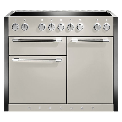 Buy Mercury MCY1082EIOY Induction Hob Electric Range Cooker, Cream Online at johnlewis.com