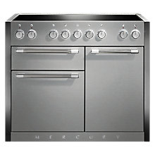 Buy Mercury MCY1082EISS Induction Hob Electric Range Cooker, Stainless Steel Online at johnlewis.com