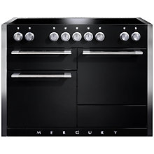 Buy Mercury MCY1200EIAB Induction Hob Electric Range Cooker, Black Online at johnlewis.com