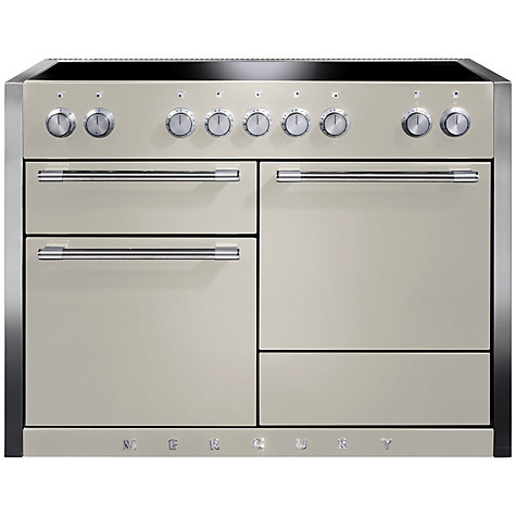 Buy Mercury MCY1200EIOY Induction Hob Electric Range Cooker, Cream Online at johnlewis.com