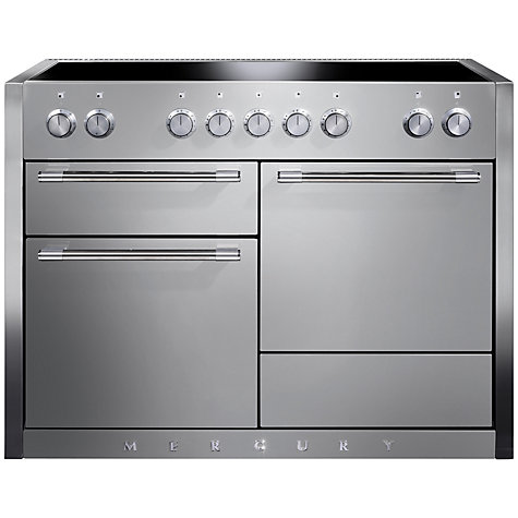 Buy Mercury MCY1200EISS Induction Hob Electric Range Cooker, Stainless Steel Online at johnlewis.com