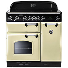 Buy Rangemaster Classic 90 Electric Range Cooker, Cream Online at johnlewis.com