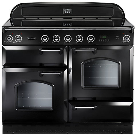 Buy Rangemaster Classic 110 Induction Hob Range Cooker, Black Online at johnlewis.com