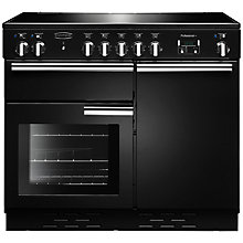 Buy Rangemaster Professional + 100 Induction Hob Range Cooker, Black Online at johnlewis.com