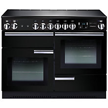 Buy Rangemaster Professional + 110 Electric Range Cooker and LEIHDC110BC Chimney Cooker Hood, Black Online at johnlewis.com