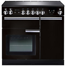 Buy Rangemaster Professional + 90 Electric Range Cooker and LEIHDC90BC Chimney Cooker Hood, Black Online at johnlewis.com
