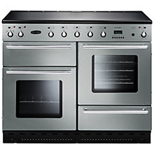 Buy Rangemaster Toledo 110 Induction Hob Range Cooker and Cooker Hood, Stainless Steel Online at johnlewis.com