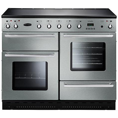 Buy Rangemaster Toledo 110 Induction Hob Range Cooker, Stainless Steel Online at johnlewis.com