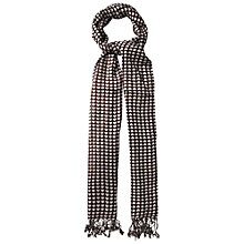 Buy White Stuff Forever Heart Scarf, Cocoa Online at johnlewis.com
