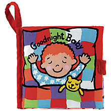 Buy Little Jellycat Goodnight Baby Fabric Book Online at johnlewis.com