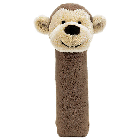 Buy Jellycat Bashful Monkey Squeaker Online at johnlewis.com