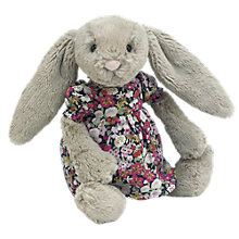 Buy Jellycat Bashful Bunny, Floral Dress Online at johnlewis.com