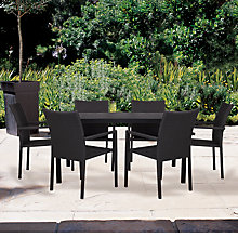 Buy John Lewis Figaro 6 Seater Outdoor Dining Set Online at johnlewis.com