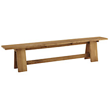 Buy John Lewis Java Reclaimed Teak Garden Bench, L210cm Online at johnlewis.com