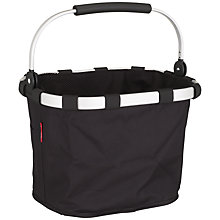 Buy Reisenthel Bike Basket, Black Online at johnlewis.com