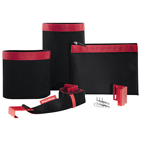 Buy Reisenthel Door Organise, Black / Red Online at johnlewis.com