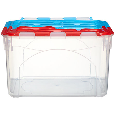 Buy little home at John Lewis Flip Top Box, 30L Online at johnlewis.com