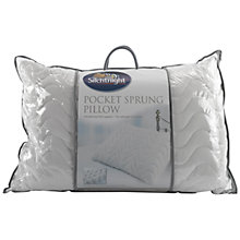 Buy Silentnight Pocket Sprung Standard Pillow Online at johnlewis.com