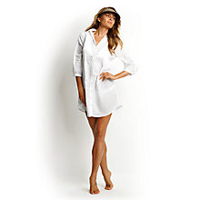 Buy Seafolly South Pacific Kaftan, White Online at johnlewis.com