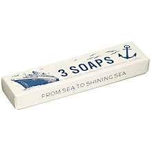 Buy Izola Bathroom Maritime Soaps, Set of 3 Online at johnlewis.com
