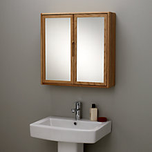 Buy John Lewis More Double Mirrored Bathroom Cabinet Online at johnlewis.com