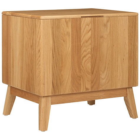 Buy John Lewis More Bathroom Linen Box, Brown Online at johnlewis.com