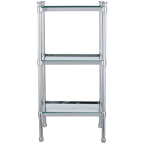 Buy John Lewis Bathroom Restoration 3 Tier Freestanding Shelf Unit, Silver Online at johnlewis.com