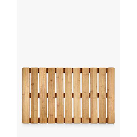 Bathroom accessories online ireland - Buy John Lewis Rubberised Bamboo Bathroom Duckboard