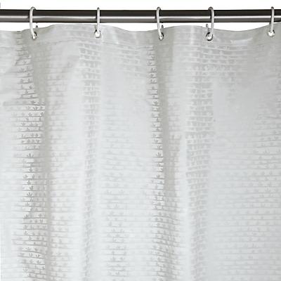 John Lewis PEVA Botanist Seedlings Shower Curtain, Multi