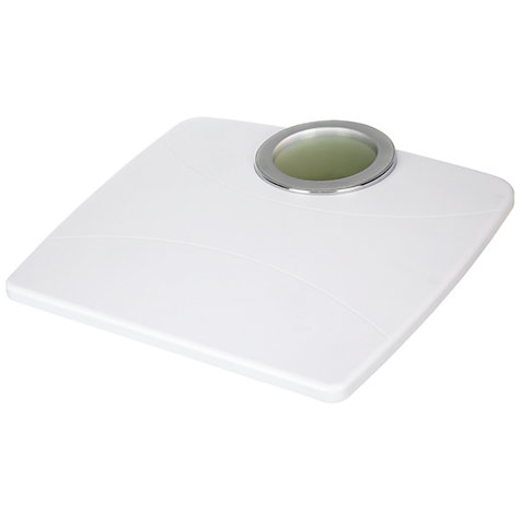 Buy John Lewis Easy-Read Digital Bathroom Scale, White Online at johnlewis.com