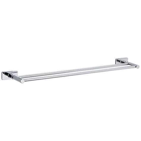 Buy John Lewis Multi-Way Bathroom Double Towel Rail, Chrome Online at johnlewis.com