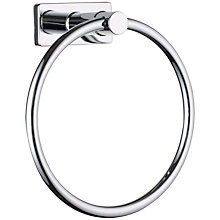 Buy John Lewis Multi-Way Bathroom Towel Ring, Chrome Online at johnlewis.com