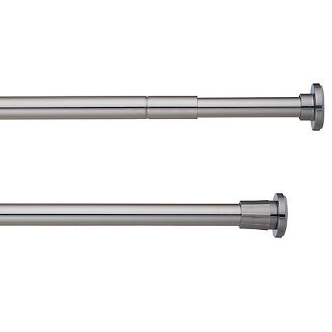 Buy John Lewis Telescopic Extendable Shower Rail, Silver Online at johnlewis.com