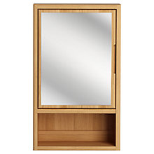 Buy John Lewis More Single Mirrored Bathroom Cabinet Online at johnlewis.com