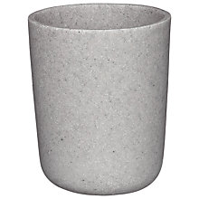 Buy House by John Lewis Scandi Mineral Bathroom Tumbler, Grey Online at johnlewis.com