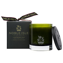 Buy Noble Isle Lightning Oak Aromatic Candle, 190g Online at johnlewis.com