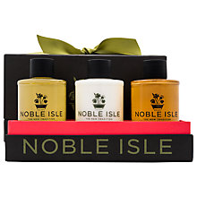 Buy Noble Isle Travel Trio Gift Set, 3 x 75ml Online at johnlewis.com