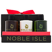 Buy Noble Isle Warm & Woody Trio Gift Set. 3 x 75ml Online at johnlewis.com