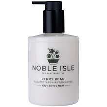 Buy Noble Isle Perry Pear Conditioner, 250ml Online at johnlewis.com
