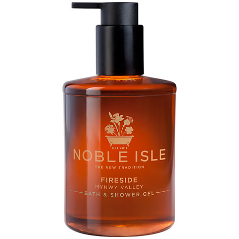 Buy Noble Isle Fireside Bath & Shower Gel, 250ml Online at johnlewis.com
