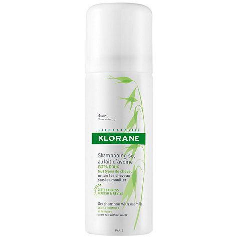 Buy Klorane Oat Milk Dry Shampoo for Frequent Use, 50ml Online at johnlewis.com