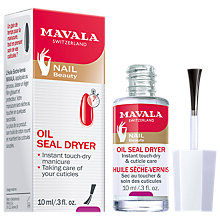 Buy Mavala Oil Seal Dryer, 10ml Online at johnlewis.com