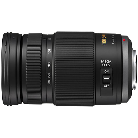 Buy Panasonic LUMIX G VARIO 100-300mm f/4.0-5.6 OIS Telephoto Lens Online at johnlewis.com