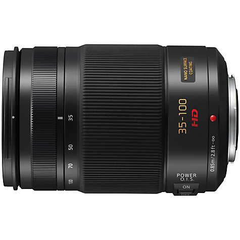 Buy Panasonic LUMIX G X VARIO 35-100mm f/2.8 POWER OIS Telephoto Lens Online at johnlewis.com