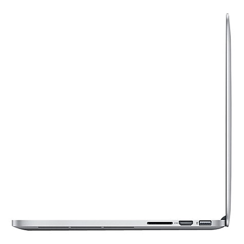 "Buy Apple MacBook Pro with Retina Display, MD212B/A, Intel Core i5, 128GB Flash, 8GB RAM, 13.3"" Online at johnlewis.com"