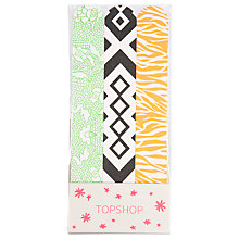 Buy TOPSHOP Print Nail File, Set of 3 Online at johnlewis.com