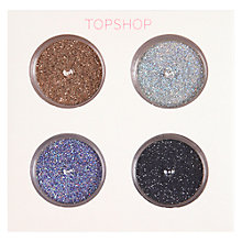 Buy TOPSHOP Eye Shadow Shimmer Dust, Set of 4, Multi Online at johnlewis.com