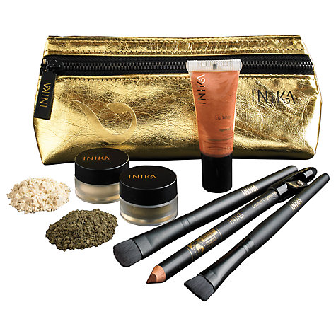 Buy INIKA Precious Metallics Christmas Collection Set, Gold Online at johnlewis.com