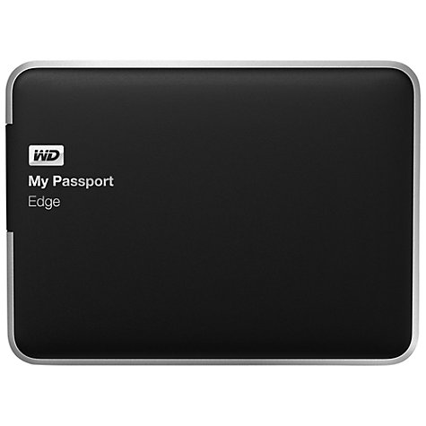 Buy WD My Passport Edge Portable Hard Drive for Mac, USB 3.0, 500GB Online at johnlewis.com